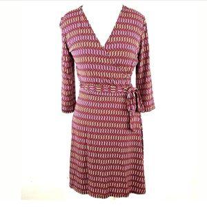 LEOTA Wrap Dress COMPASS ROSE